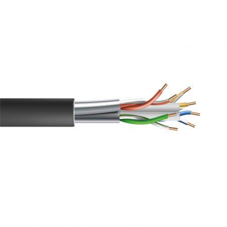 Câble LAN en vrac PRIME CMX Cat.5E pour l'extérieur FTP - Câble LAN en vrac PRIME CMX Cat.5E pour l'extérieur FTP