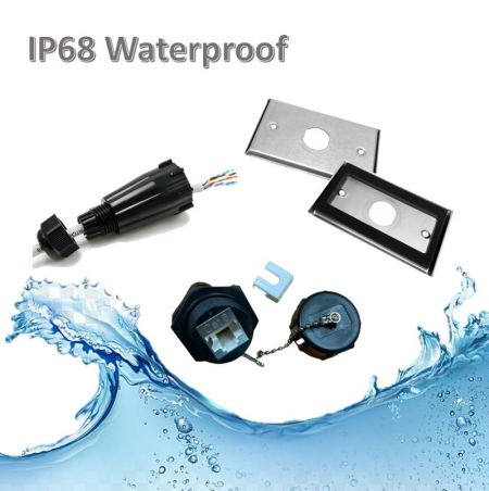 Waterproof Structured Cabling Solution - IP68 Cabling