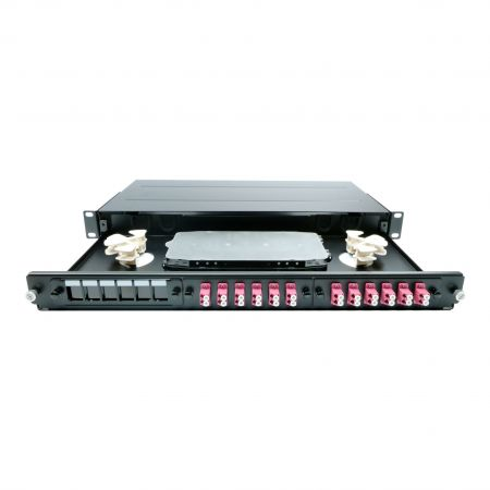 LGX Fiber Panel - 72C LGX Fiber Patch Panel Enclosure
