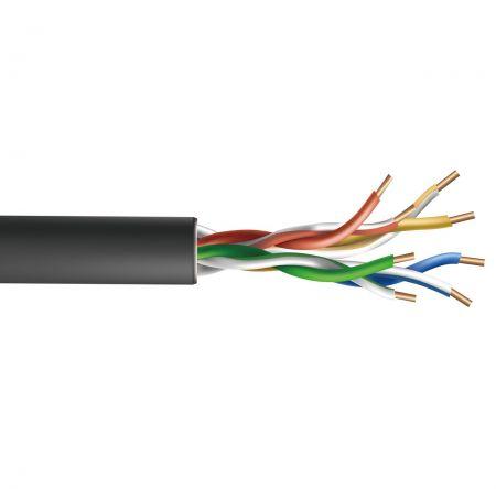 Kabel UTP Cat5E CMX Luar Ruangan 24AWG - Kabel UTP Cat.5E Ethernet Luar Ruangan
