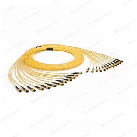 Single Mode OS2 MTP MPO Trunk Harness - MTP® and MPO Trunk Cable