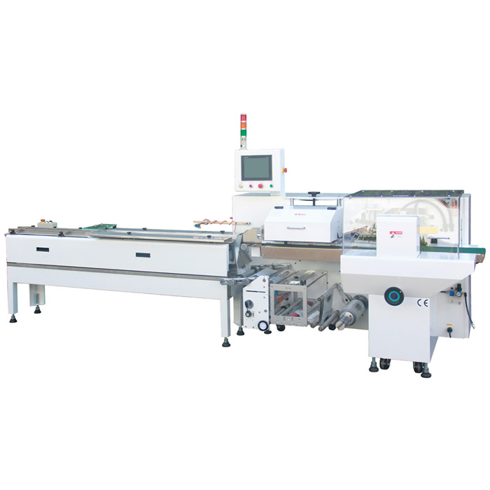 Flow Wrap Machine - Top Sealing - Box Motion - Servo Flow Wrapping Machine - Box Motion