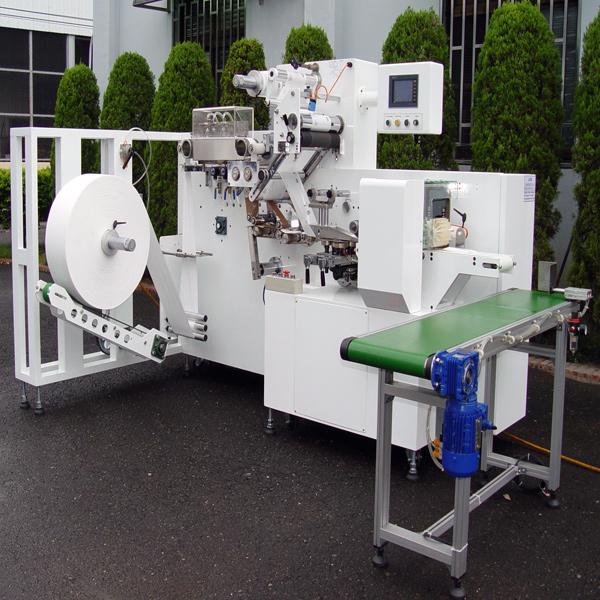 macchine per l'imballaggio di salviettine umidificate