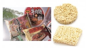 泡麵自動化包裝線 - instant noodles packaging