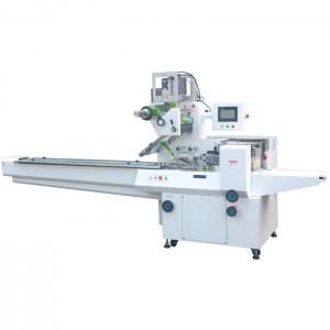 Flow Wrapping Machine - Servo Wrapper - Maszyna do owijania serwomechanizmem (1-osiowa owijarka serwo)