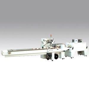 Machine d'emballage à flux rétractable - emballage rétractable