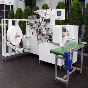 Machine d'emballage de lingettes humides et de tissus humides - machines d'emballage de lingettes humides