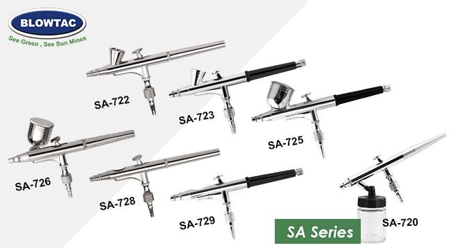 BLOWTAC Airbrush SA Series