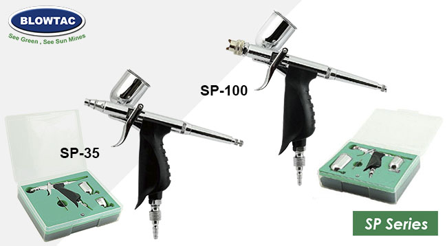 BLOWTAC Airbrush SP Series