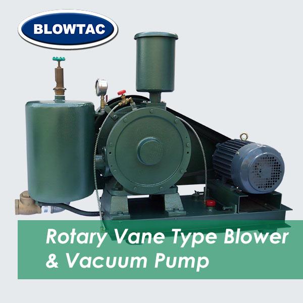Obrotowa dmuchawa łopatkowa BLOWTAC/pompa próżniowa