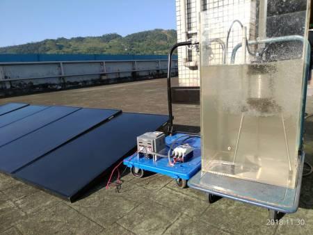 Sprężarka powietrza z dmuchawą słoneczną z pompą wodną