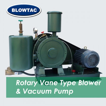 Bomba de vacío / soplador de paleta rotativa