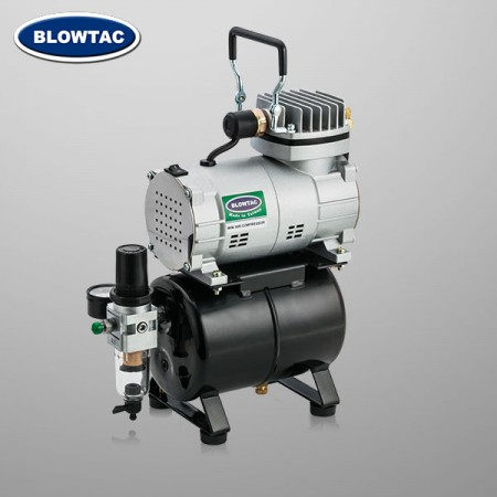 Jednocylindrowa mini sprężarka powietrza ze zbiornikiem