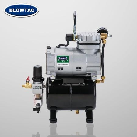 Mini compresor de aire monocilíndrico con tanque