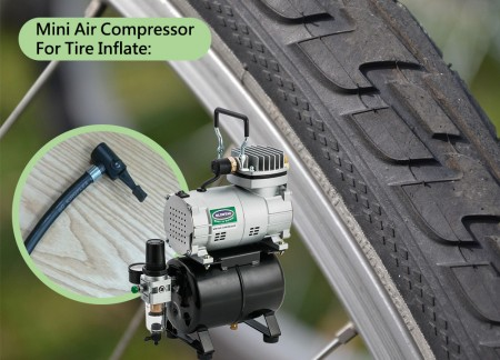 Mini Air Compressor for Tire Inflate