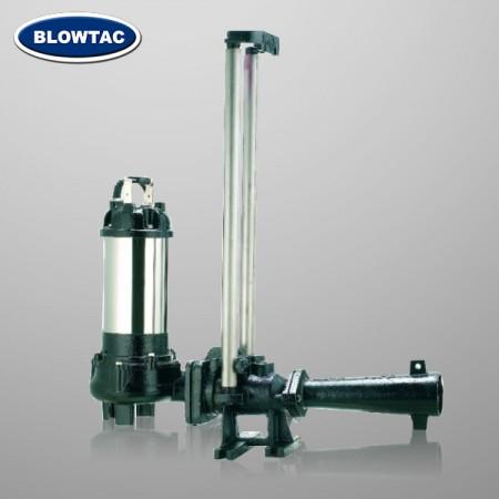 Aerator strumieniowy z zestawem montażowym szyny (typ TJA)