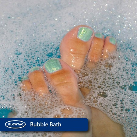 Bubble bath.