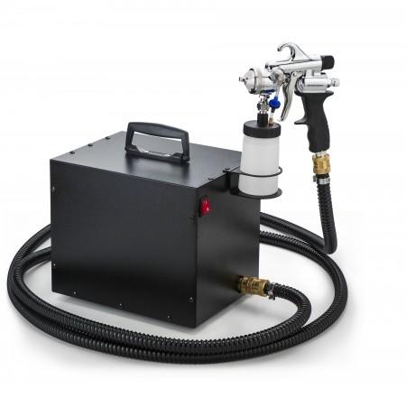 Super silent HVLP spraying sets