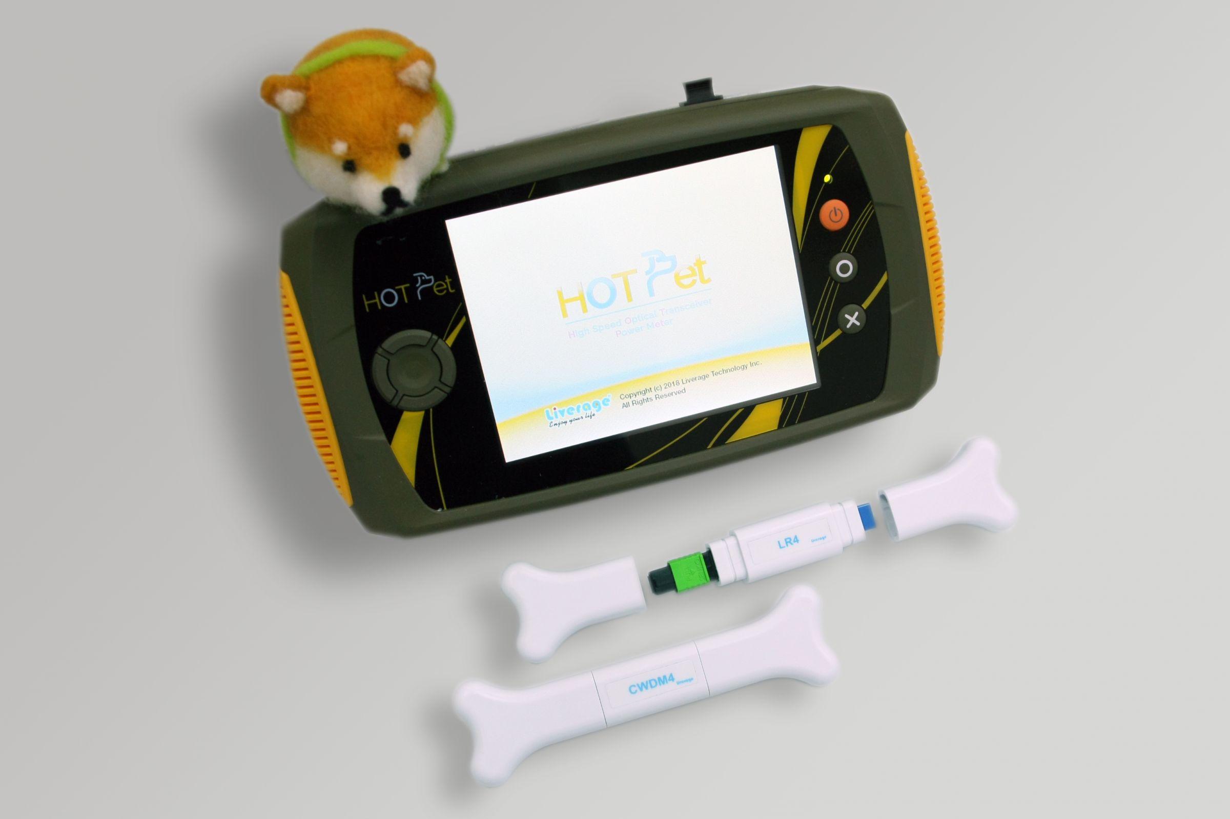 HOT Pet Mide 4 canales de potencia de salida especialmente para transceptores ópticos de 40 ~ 100G.