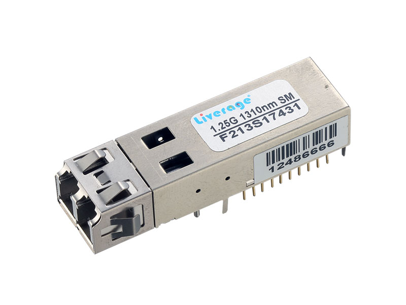 We supply high-quality 1Gbps SFF optical transceiver.