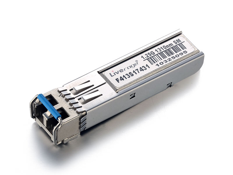 SFP with the speed rate up to 1Gbps and transmission up to 120km.