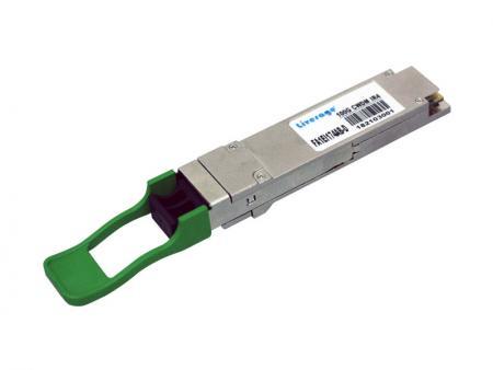 Transceptor óptico QSFP28 CWDM4 de 100 Gbps