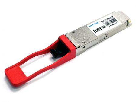 Transceptor óptico 100Gbps QSFP28 ER4 - QSFP28 ER é um módulo transceptor 100G projetado para aplicações de comunicação óptica.