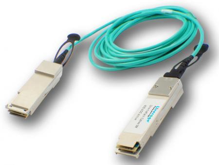 Aktywny kabel optyczny - Aktywny kabel optyczny można zdefiniować jako światłowodowy kabel połączeniowy zakończony na obu końcach optycznymi nadajnikami-odbiornikami.