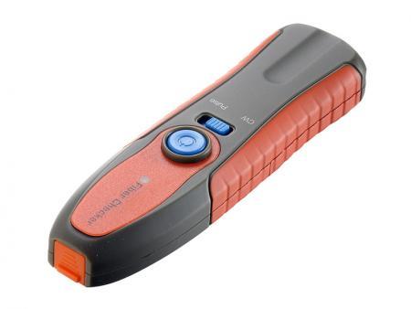 Wizualny lokalizator uszkodzeń - Fibre Checker to przydatne narzędzie do sprawdzania wad kabla światłowodowego.