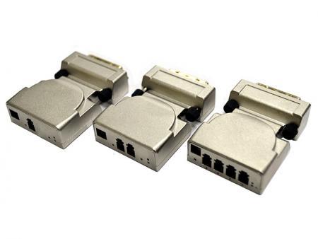 Optyczny przedłużacz DVI - DVI Extender przesyła sygnały DVI na duże odległości przez światłowód jednomodowy lub wielomodowy.