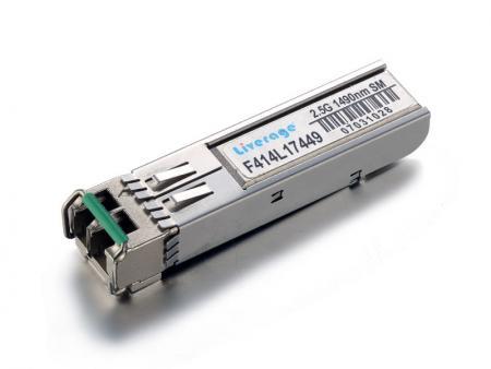SFP CWDM alıcı-verici - SFP CWDM, 155Mbps ~ 10Gbps hızında çalışan bir SFP serisidir.