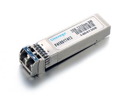 Transceiver SFP+ - SFP+ to ulepszona wersja SFP obsługująca szybkości transmisji danych do 16 Gbit/s.