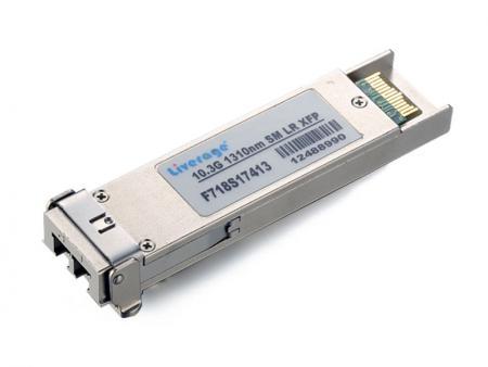 Transceptor XFP - El XFP es un transceptor para redes de computadoras de alta velocidad y enlaces de telecomunicaciones que utilizan fibra óptica.