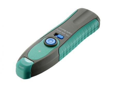 Оптический источник света - Источник света - удобный прибор, обеспечивающий несколько длин волн для тестирования оптоволоконного оборудования.