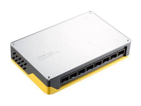8チャンネル波長光パワーメータハブ - パワーメータハブは、ファイバー機器をテストするための便利なツールおよび機器です。