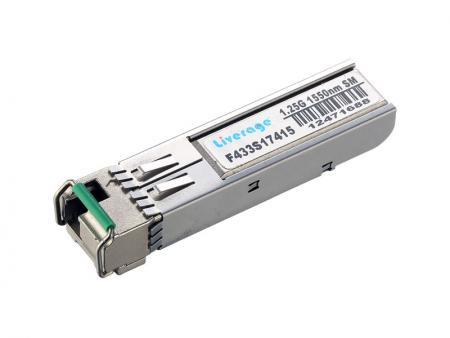 Transceptor SFP + BI-DI de 10 Gb / s (10km) - O transceptor BIDI 10 Gb / s SFP + é compatível com a especificação SFP + MSA atual.