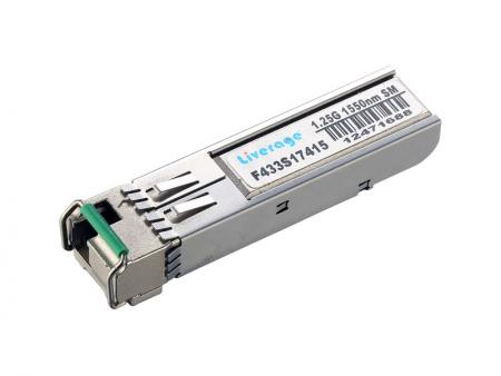 10Gb/s SFP+ BI-DI Transceiver (10km) - BIDI 10Gb/s SFP+ transceiver is compliant with the current SFP+ MSA specification.