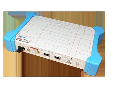 Tester bitowej stopy błędów AOC/transceivera 0,1 Gb/s-100 Gb/s - iBERT X1 mini to tester bitowej stopy błędów zaprojektowany dla 0.1G-100G AOC.