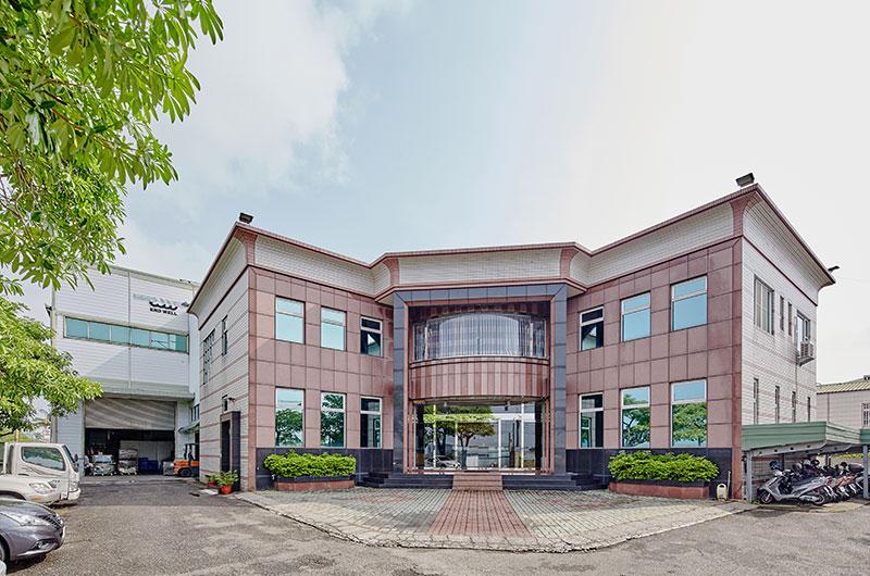 Architektonisches Erscheinungsbild des Unternehmens