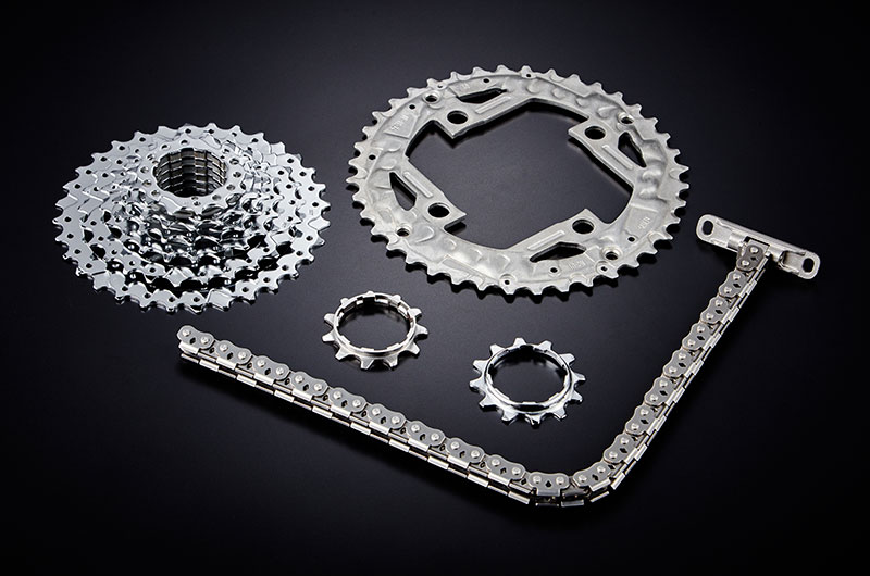 Gears & Chain Stamped Parts