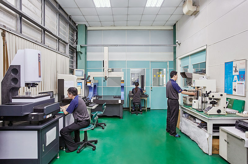 Quality Control Department Office & Measurement Equipment.