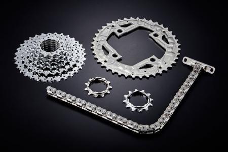 Piezas estampadas de engranajes y cadenas - Plato de bicicleta