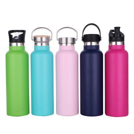 カスタム断熱ウォーターボトル - あなたのロゴやブランドを真空断熱ウォーターボトルに入れてください