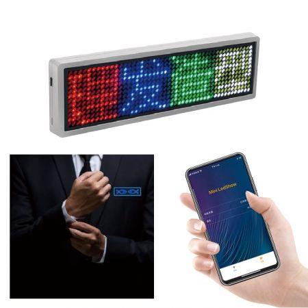 LEDネームタグ