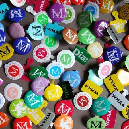 Tin Tab Buttons