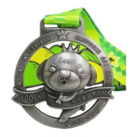 3Dメダルとメダリオン - カスタム3Dメダルはあなたの最良の選択です。