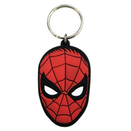 3D PVC Keychain - 3D PVC keychain is soft and has the feel of rubber.