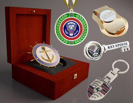 Metal Gifts - Custom Metal Badge.