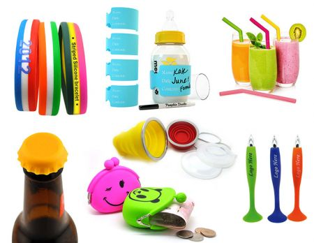 Silicone Promotional Products - Safe Non-Toxic Silicone Products