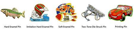 Colour Methods for Metal Lapel Pins